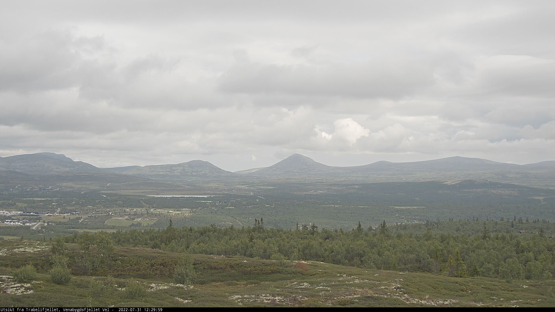 Webcam Trabelifjellet, Ringebu, Oppland, Norwegen
